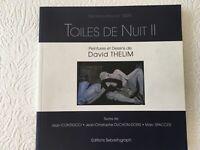 Toiles de nuit II : peintures et dessins de David Thelim : expo Hangart' 2009