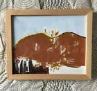 Original Contemporary Vermont Expressionist Landscape Oil Painting Signed