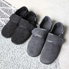 Men's Wide Diabetic Slippers Arthritis Edema Indoor Outdoor Comfort Shoes