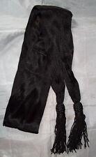 "Handmade Silk Chaplain's Sash - (Black) - Civil War/Reenactor - ""New"""