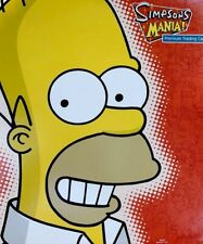 NEW SIMPSONS Mania Official Trading Card Binder INKWORKS 2001 - Homer Simpson