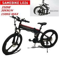 "Samebike 26"" E-Bike Fahrrad Elektrofahrrad Bergfahrrad Mountainbike 30km/h 48V"