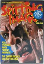 1985 SPITTING IMAGE Hardcover Book Cartoon Puppets Luck & Flaw Political Satire