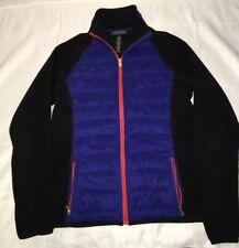 Vintage Lauren Ralph Lauren Fleece Zip Up Jacket Vest Size Small 90's EUC