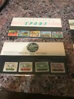 Royal Mail Stamps Presentation Set 4 unopened packs