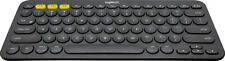 Logitech - K380 Multi-Device Bluetooth Scissor Keyboard - Gray