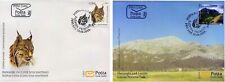 MONTENEGRO/2019, (FDC) Environment Protection (Lynx, National Park, Fauna), MNH