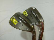 New Cleveland RTX 3 RAW wedge set 54* V-MG SW & 58* V-LG LW wedges Rotex 3