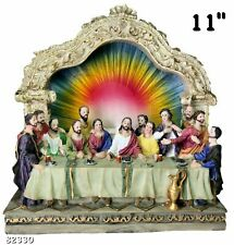 "The Last Supper 11"" Inch Statue Brand New Religious"