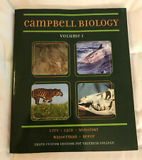 Campbell Biology Volume I Third Custom Edition for Valencia College