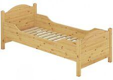 lit pour seniors très mince haut + Wobbler 120x200 en bois simple d'invités