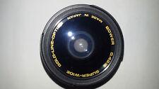 BOWER 0.42 X SUPER WIDE OBBIETTIVO PER MACRO  37 - 46 Gold line optics