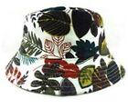 Floral Bucket Hat Sun Protection Fishing Beach Gardening Walking Tennis Casual