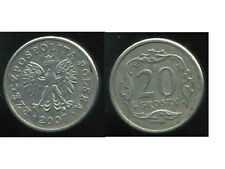 POLOGNE  20 groszy  2007  ( bis )