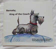 BARNABY KING OF THE COUCH ILLUSTRATED SCOTTISH TERRIER DOG BOOK