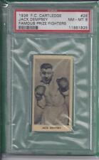 JACK DEMPSEY  1938 F.C.Cartledge   #26 Famous Prize Fighters  PSA NM-MT 8