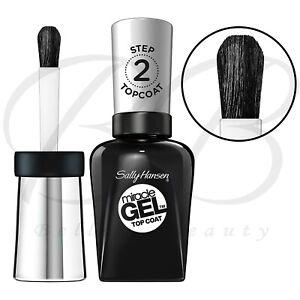 SALLY HANSEN Miracle Gel Quick Dry Nail Polish Top Coat Transparent 14.7ml *NEW*