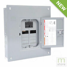 Square D 200 Amp Load Center Main Breaker Panel Electrical 16-Circuit 8-Space