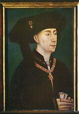 Alte Kunstpostkarte - Rogier van der Weyden - Portret van Filips de Goede