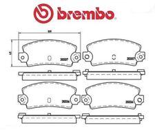 P68002 Kit pastiglie freno, Freno a disco (MARCA-BREMBO)