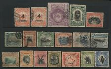 North Borneo Collection 18 Stamps Used
