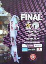 * CAMBRIDGE UNITED v GATESHEAD - 2014 CONFERENCE PLAY-OFF FINAL MINT PROGRAMME *