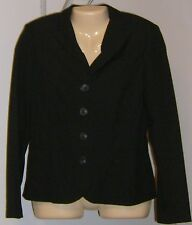 Alfani Size 8 Petite Jacket Black Holland Park  NEW with Tags $149 NICE 4 Button