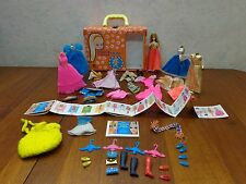 "Vintage 1965 Mattel Tutti Doll ""Dawn"" Play Case Clothes Poodle Og Paperwork. VgC"