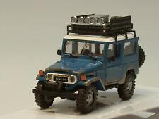 Busch Toyota Land Cruiser Geländewagen J4, OFFROAD, blau - 43023 - 1:87