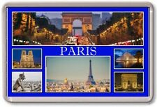 FRIDGE MAGNET - PARIS - Large - France TOURIST