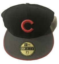 New Era Chicago Cubs 59fifty Fitted Hat Size 7 3/8