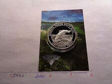 Cutthroat Trout Fish National Fishing Grand Slam 999 Silver Coin Info Card #C