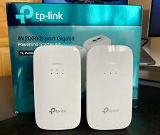 TP-LINK TL-PA9020KIT AV2000 2000 Mbps 2-Port Gigabit Powerline Starter Kit