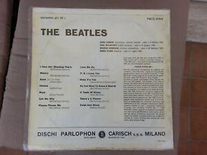THE BEATLES/ STORY/PLEASE PLEASE ME OMONIMO SAME/ PMCQ 31502 /1963 ITALY 1° LP