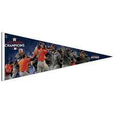 """HOUSTON ASTROS 2017 WORLD SERIES CHAMPIONS PLAYERS ROLL UP PENNANT 17""""x40"""""""