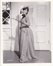 LUISE RAINER Adrian Costume Gown Vintage 1938 TOY WIFE MGM DBW Portrait Photo