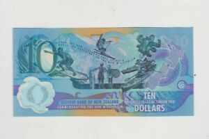 2000 NEW ZEALAND P190a COMMEMORATIVE $10 BANKNOTE IN MINT CONDITION