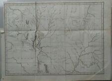 Map of northern Paraguay, Felix de Azara 1809