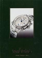 Catalogo Paul Picot 2002 orologi prospetto orologi catalogo Catalog WATCHES OROLOGI OROLOGIO
