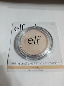 e.l.f. Prime & Stay Finishing Powder, Fair/Light 23211, 0.17 oz