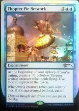 Magic the Gathering Thopter Pie Network Foil Card MtG Happy Holidays 2016 WotC