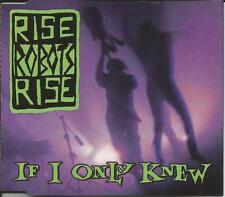 RISE ROBOTS RISE If I only Knew / All Sewn 9TRX REMIXES & INSTRUMENTAL CD Single