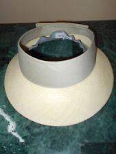 Unihat Texace Grayhawk Golf Club Womens Tan Hawk Sun Visor Hat With Bow in Back