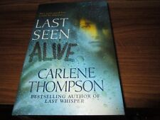 Last Seen Alive by Carlene Thompson Large Print Book Save w/Combined Shipping!