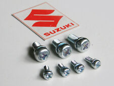 Suzuki gt750 rear chrome gauge cover Hardware Screw Kit guage speedometer clock