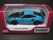 Kinsmart 1:36 DieCast model car - Porsche 911 GT2 RS (blue)