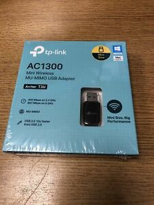 TP-Link Archer T3U AC1300 Mini Wireless MU-MIMO USB WiFi Adapter Dongle