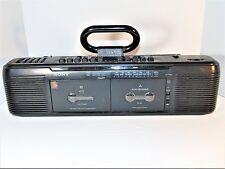 Vintage Sony CFS-EW60 Boom Cassette Deck Not Working.