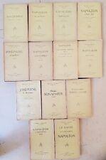 MASSON (Frédéric) Etudes Napoléoniennes. complet en 13 volumes. 1926-1930