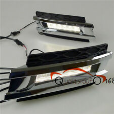 LED Day Time Running Light Front Fog Light Cover For Benz GL320 GL550 2006-09